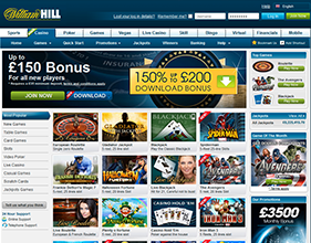 william hill casino club wiki