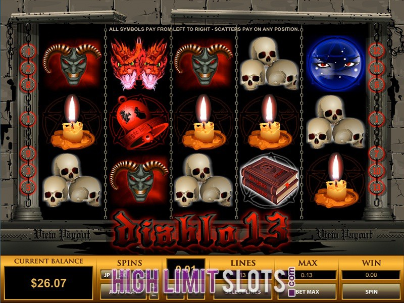 Diablo 13 Slot Machine Online ᐈ ™ Casino Slots