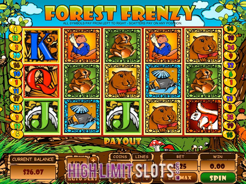 Forest Frenzy Slot Machine Online ᐈ ™ Casino Slots