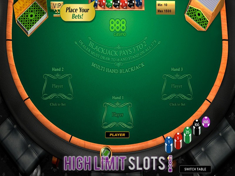 What Are the Advantages of Playing High Limit Blackjack?