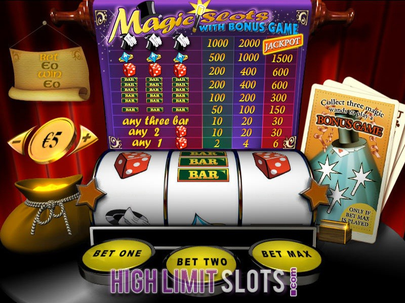 High limit slots better odds